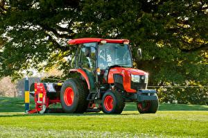 Bilder Landwirtschaftlichen Maschinen Traktor 2018-20 Kubota L2602