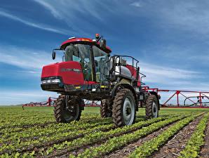 Hintergrundbilder Landwirtschaftlichen Maschinen Felder 2011-20 Case IH Patriot 4430