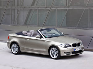 Pictures BMW Silver color Metallic Cabriolet  automobile