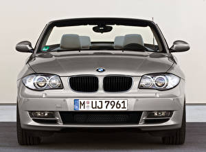 Picture BMW Silver color Metallic Cabriolet Front  auto