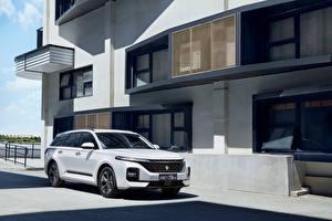 Wallpapers Baojun Estate car White Metallic Chinese RC-5W, 2020 Cars pictures images