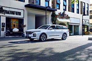 Photo Baojun White Metallic Chinese Estate car Street RC-5W, 2020 Cars