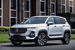 Wallpapers Baojun Crossover White Metallic Chinese RS-5 Prototype, 2018 Cars