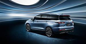Fotos Baojun Softroader Metallisch Seitlich Chinesischer RS-7, 2020 Autos