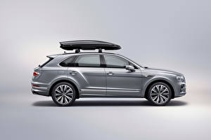 Images Bentley CUV Grey Metallic Side Bentayga V8 Worldwide, 2020