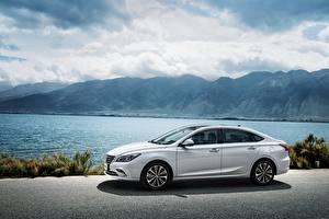 Images Changan White Metallic Side Chinese  Cars