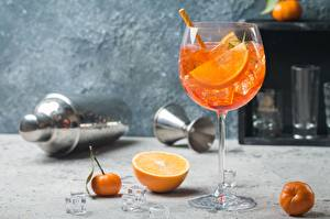 Pictures Mixed drink Orange fruit Stemware Food