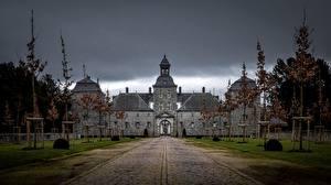 Fotos Frankreich Burg Wimereux Natur
