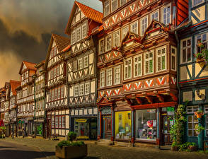 Photo Germany Building HDR Street Bad Sooden-Allendorf, Hessen
