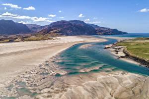 Fotos Irland Küste Gebirge Donegal Natur
