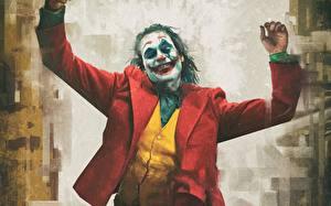 Bilder Joker 2019 Joker Held Clowns