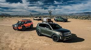 Bilder KIA Wüste Softroader Telluride, US-spec, 2019 auto