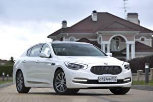 Image KIA White Metallic  automobile