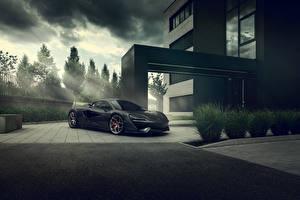 Sfondi desktop McLaren Grigio 2020 Pogea Racing 666s