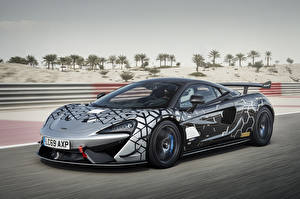 Fondos de escritorio McLaren Tuning Gris Movimiento 2020 620R Worldwide autos