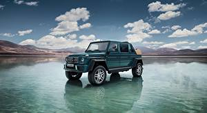 Pictures Mercedes-Benz Maybach Water G-Wagen SUV Maybach G 650, Landaulet, 2017 Cars