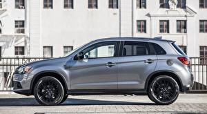 Sfondi desktop Mitsubishi Accanto CUV Metallico D'argento Outlander Sport, Limited Edition, US-spec, 2017 automobile
