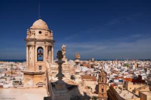 Hintergrundbilder Spanien Gebäude Kathedrale Skulpturen  Städte