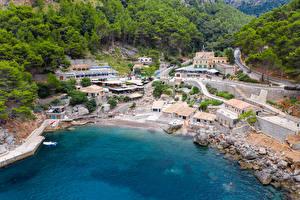 Fotos Spanien Mallorca Gebäude Küste Dorf Escorca Städte
