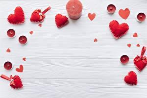 Bilder Valentinstag Kerzen Herz Vorlage Grußkarte Rot