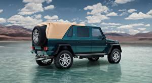 Photo Water Mercedes-Benz Maybach G-Wagen Side SUV Maybach G 650, Landaulet, 2017 automobile