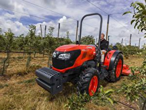 Bilder Landwirtschaftlichen Maschinen 2017-20 Kubota M5101N ROPS