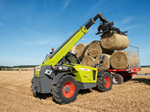 Wallpaper Agricultural machinery Fork truck Hay 2018-20 Claas Scorpion 1033 Worldwide