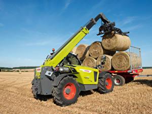 Fotos Landwirtschaftlichen Maschinen Gabelstapler Heu 2018-20 Claas Scorpion 1033 Worldwide