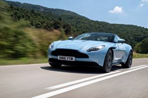 Image Aston Martin Light Blue automobile