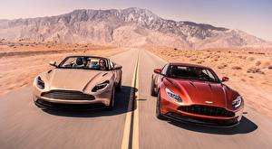 Pictures Aston Martin Roads Two Moving Convertible DB11, V8, Volante, 2018 auto
