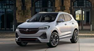 Hintergrundbilder Buick Crossover Grau Metallisch Encore GX, 2019 Autos