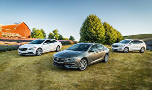 Photo Buick Three 3 Crossover LaCrosse, Regal, Enclave Cars