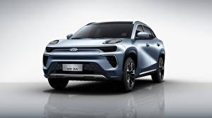 Fotos Chery Softroader Metallisch Vorne Chinesischer eQ5, S61, 2020 Autos