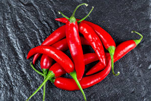 Wallpaper Chili pepper Closeup Red