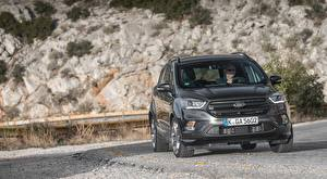 Pictures Ford Crossover Metallic Black Front Kuga ST-Line, 2016