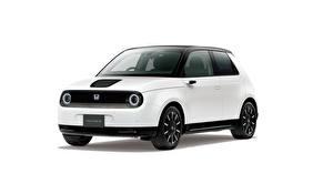 Pictures Honda White Metallic White background e, JP-spec, 2020 automobile