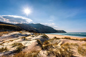Picture Ireland Coast Sun Sand Ardara, Donegal
