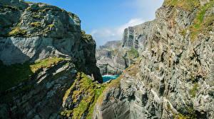 Fondos de escritorio Irlanda Roca Mizen Head Naturaleza