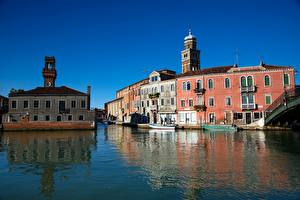 Image Italy Building Venice Canal Murano Cities