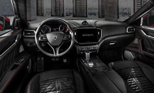 Fotos & Bilder Maserati Salons Lenkrad Ghibli Trofeo, M157, 2020 Autos