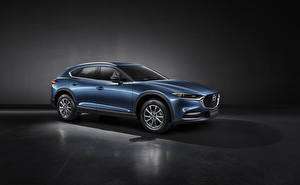 Wallpapers Mazda Crossover Metallic CX-4, 2019 Cars
