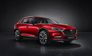 Picture Mazda Crossover Red Metallic CX-4, 2019 automobile