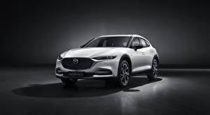 Sfondi desktop Mazda CUV Bianco Metallizzato CX-4, 2019 automobile