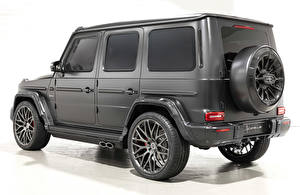 Photo Mercedes-Benz Tuning G-Wagen Gray White background Hofele Design, G 63 (Br.463), 2020