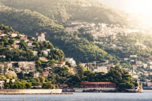 Images Monaco Monte Carlo Houses Coast Cities