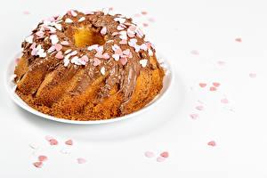 Wallpaper Pound Cake Chocolate Heart