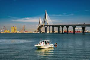 Images Spain Bridge Yacht Sky