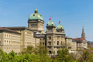 Fondos de escritorio Suiza Berna Palacio Bundeshaus