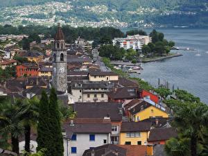 Image Switzerland Building Coast Roof Lucerne Cities