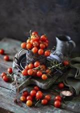 Fotos Tomate Viel Bretter Ast Lebensmittel